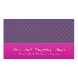 Charming pink flowers with long heart petals on pu Double-Sided standard business cards (Pack of 100)