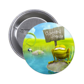 Charming prince 2 inch round button