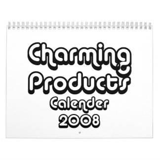Charming Products 2008 Calender Calendar