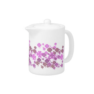 Charming Purple Creamer by Janz Teapot