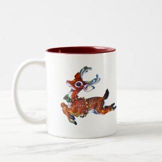 Charming Reindeer mug