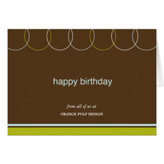 professional birthday note cards  zazzle, Birthday card