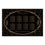 Charming Roaring 20s Great Gatsby Seating Chart