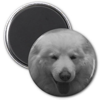 Charming Smile 2 Inch Round Magnet