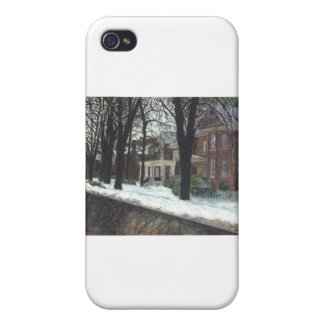 Charming Victorian Homes Case For iPhone 4