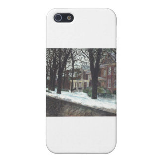 Charming Victorian Homes Cases For iPhone 5