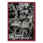 Charming Vintage Bliss Birthday Card