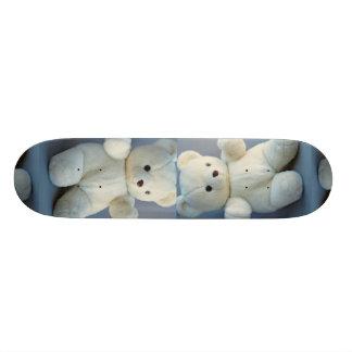 Charming White teddy bear Skate Decks