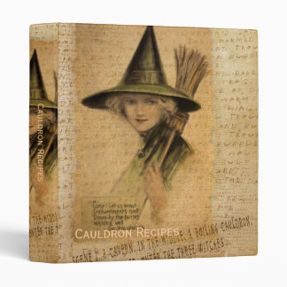 Charming Witch 3 Ring Binder