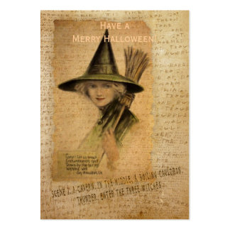 Charming Witch Large Business Cards (Pack Of 100)