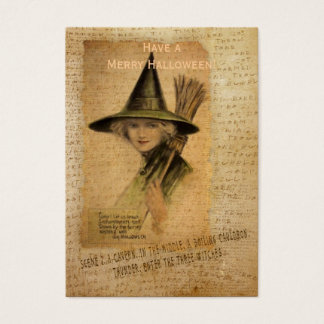 Charming Witch Business Card
