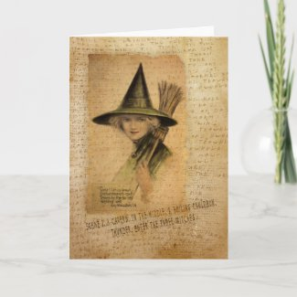 Charming Witch Greeting Cards