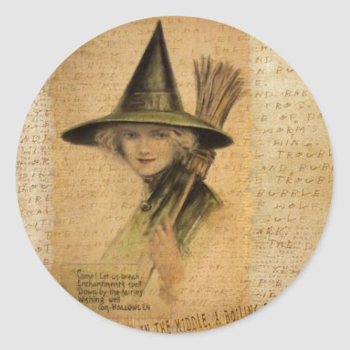 Charming Witch Stickers