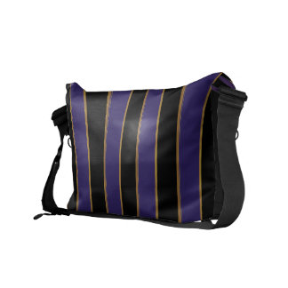 Charmingly Striped Commuter Bag
