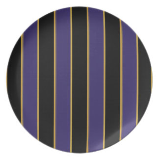 Charmingly Striped Plate