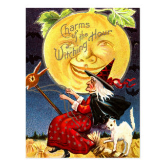 Charms of the Witching Hour Postcard