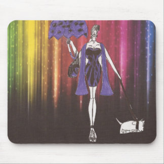 charnay's fashion illustration mouse pad