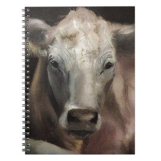 Charolais Cow Merchandise Notebook