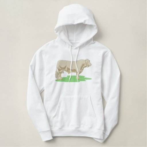Charolais Embroidered Hoodie
