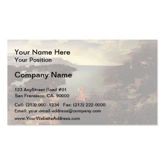 Charon by Joachim Patinir Double-Sided Standard Business Cards (Pack Of 100)
