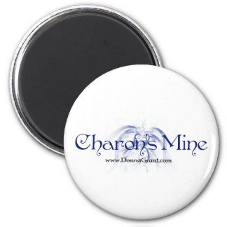 Charon 2 Inch Round Magnet