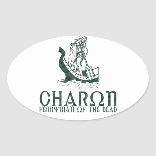 Charon Oval Sticker