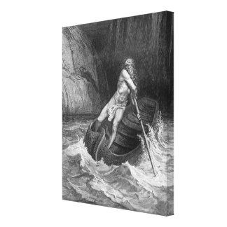 Charon, the Ferryman of Hell Canvas Print