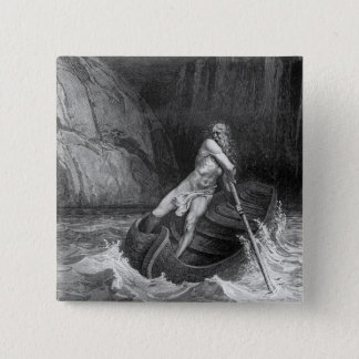 Charon, the Ferryman of Hell Pinback Button
