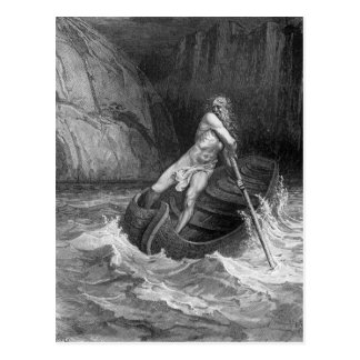 Charon, the Ferryman of Hell Postcard