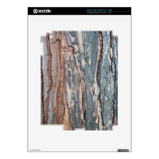 Charred Pine Bark Skins For iPad 2