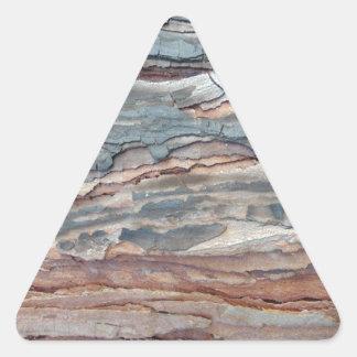 Charred Pine Bark Triangle Sticker