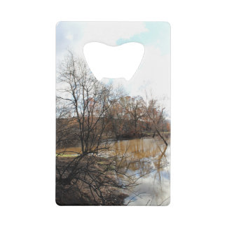 Charred Trees and Murky Pond Bottle Opener
