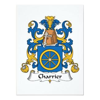 Charrier Family Crest Card