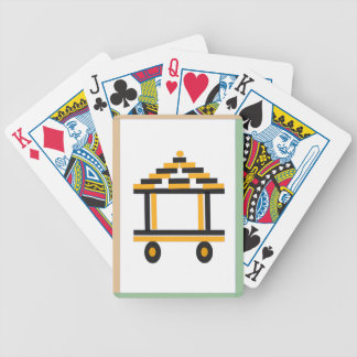 charriot bicycle playing cards