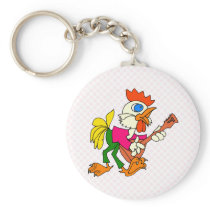 Charry Chicken Keychain