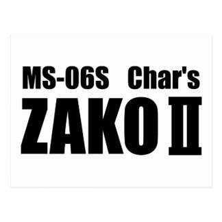 Char's ZAKO Post Card