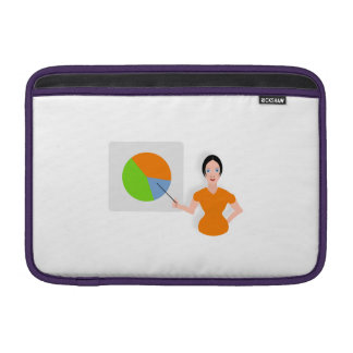 Chart and Graph MacBook Sleeve