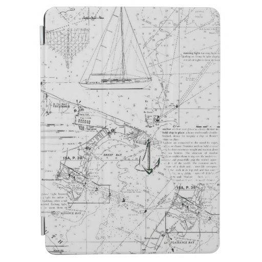Chart And Sail iPad Air Cover