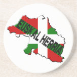 Chart Basque Country plus flag euskal herria Drink Coasters