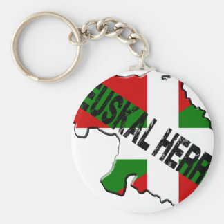 Chart Basque Country plus flag euskal herria Keychains
