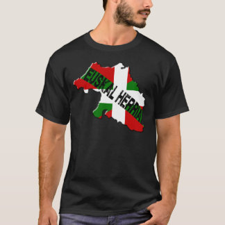 Chart Basque Country plus flag euskal herria T-Shirt