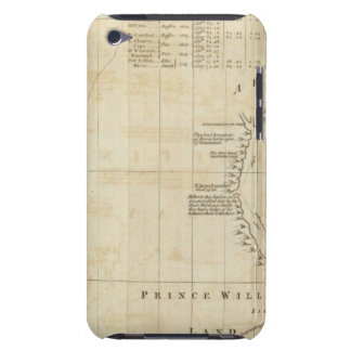 Chart containing part of the Icy Sea iPod Touch Case