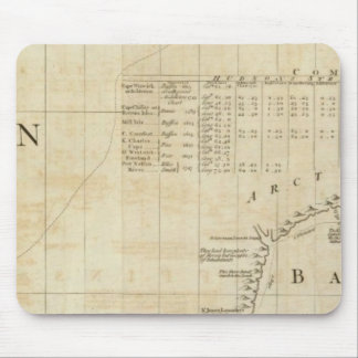 Chart containing part of the Icy Sea Mouse Pad