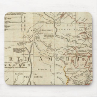 Chart containing the Coasts of California Mouse Pad