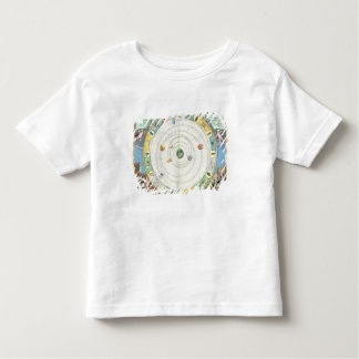 Chart describing the Movement of the Planets, from Toddler T-shirt