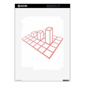 Chart Growth Skins For iPad 2