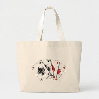 chart large tote bag