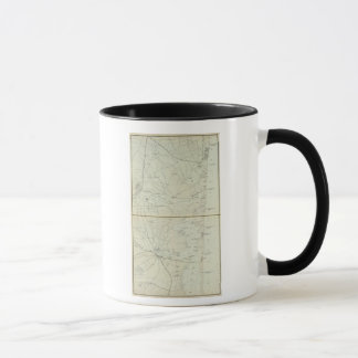 Chart map of Spring Lake to Cedar Creek Coast Mug