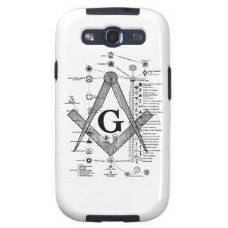 Chart of Masonic Degrees Samsung Galaxy SIII Covers