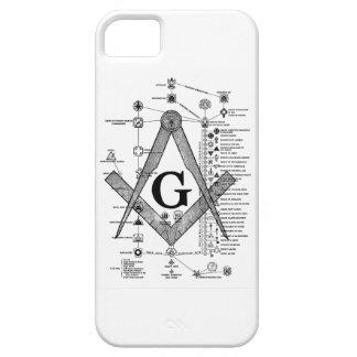 Chart of Masonic Degrees iPhone SE/5/5s Case